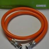 Gasslang met koppeling 60 cm